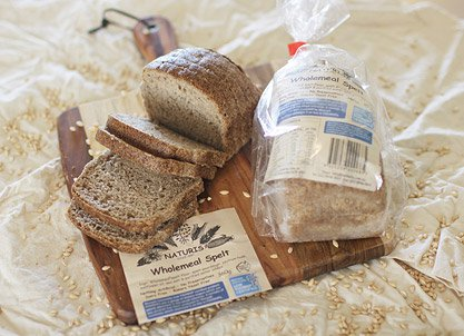 x2 Naturis Low FODMAP spelt sourdough bread options, certified by Monash University_c109d0ac
